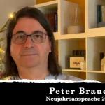 Neujahrsansprache 2021 Peter BRauch